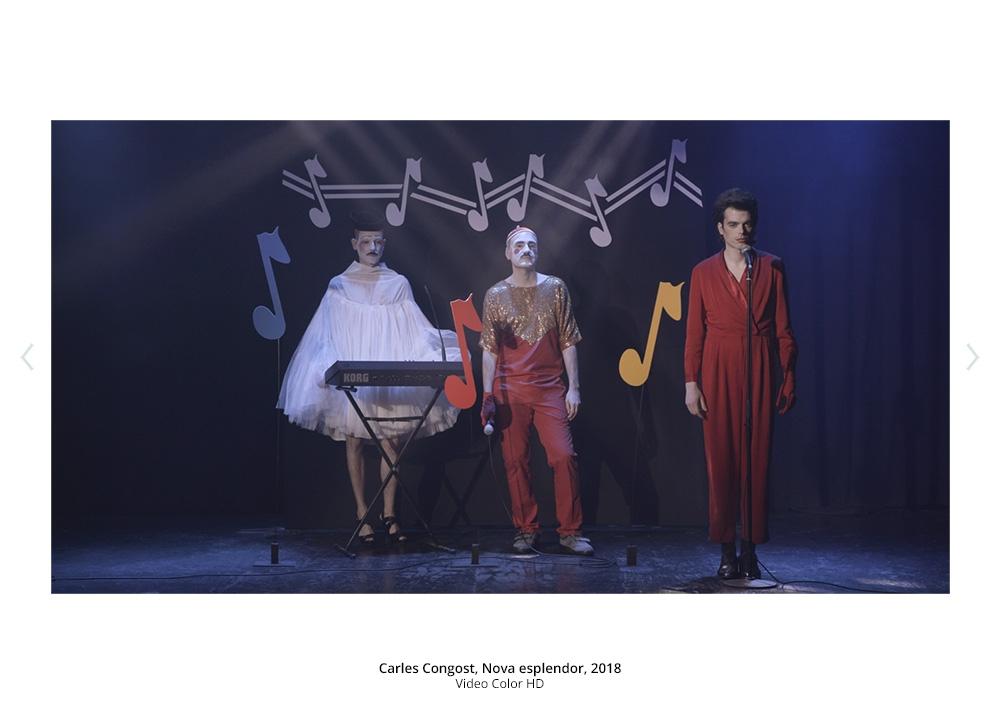 Carles Congost, Nova esplendor, 2018