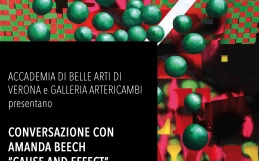 "Amanda Beech | Conferenza ""Cause and Effect"" 