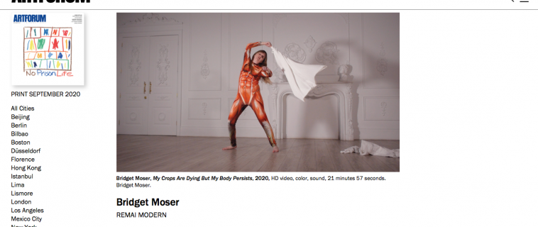 "BRIDGET MOSER | ""My Crops Are Dying But My Body Persists"" 